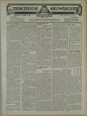 Zierikzeesche Nieuwsbode 1941-04-15
