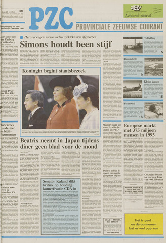 Provinciale Zeeuwse Courant 1991-10-23