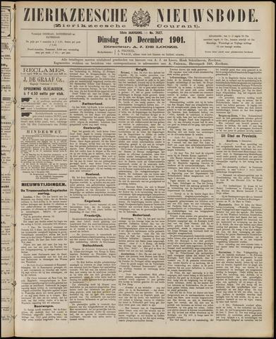 Zierikzeesche Nieuwsbode 1901-12-10