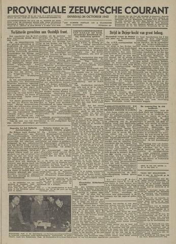 Provinciale Zeeuwse Courant 1943-10-26