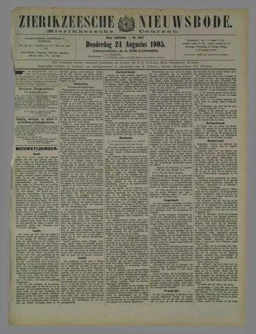 Zierikzeesche Nieuwsbode 1905-08-24