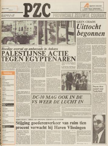 Provinciale Zeeuwse Courant 1979-07-14