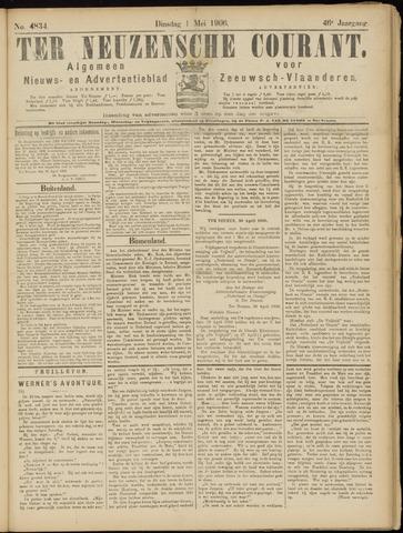 Ter Neuzensche Courant. Algemeen Nieuws- en Advertentieblad voor Zeeuwsch-Vlaanderen / Neuzensche Courant ... (idem) / (Algemeen) nieuws en advertentieblad voor Zeeuwsch-Vlaanderen 1906-05-01
