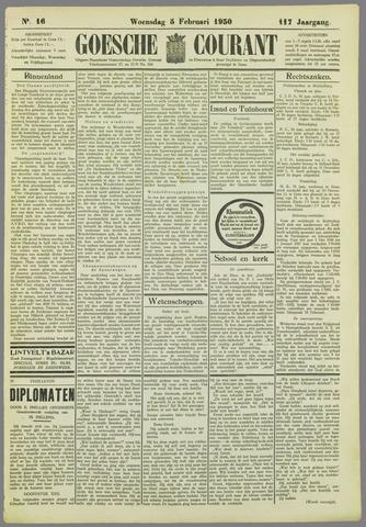 Goessche Courant 1930-02-05