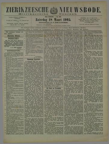 Zierikzeesche Nieuwsbode 1905-03-18
