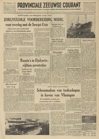 Provinciale Zeeuwse Courant 1958-01-11