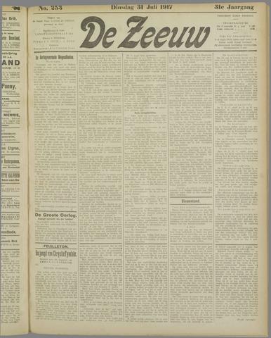 De Zeeuw. Christelijk-historisch nieuwsblad voor Zeeland 1917-07-31