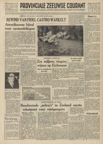 Provinciale Zeeuwse Courant 1961-04-18