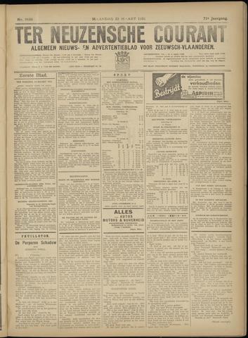 Ter Neuzensche Courant. Algemeen Nieuws- en Advertentieblad voor Zeeuwsch-Vlaanderen / Neuzensche Courant ... (idem) / (Algemeen) nieuws en advertentieblad voor Zeeuwsch-Vlaanderen 1931-03-23