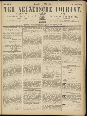 Ter Neuzensche Courant. Algemeen Nieuws- en Advertentieblad voor Zeeuwsch-Vlaanderen / Neuzensche Courant ... (idem) / (Algemeen) nieuws en advertentieblad voor Zeeuwsch-Vlaanderen 1901-05-11