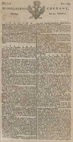 Middelburgsche Courant 1775-12-30