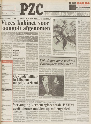 Provinciale Zeeuwse Courant 1979-08-25