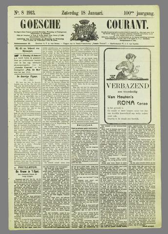 Goessche Courant 1913-01-18