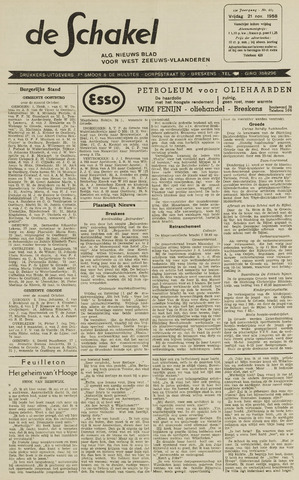 De Schakel 1958-11-21