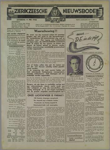 Zierikzeesche Nieuwsbode 1940-05-11