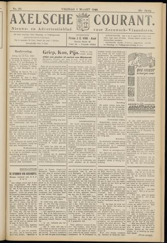 Axelsche Courant 1940-03-01