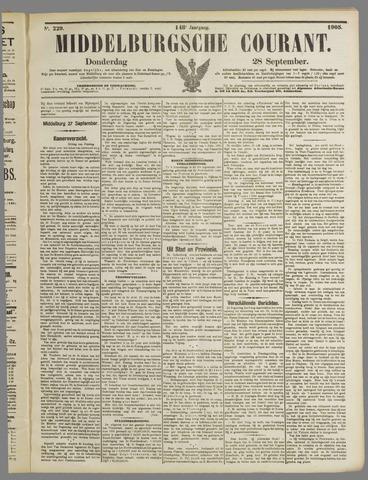 Middelburgsche Courant 1905-09-28