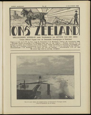 Ons Zeeland / Zeeuwsche editie 1928-12-08