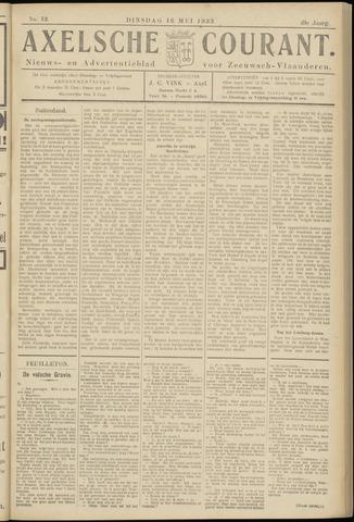Axelsche Courant 1933-05-16