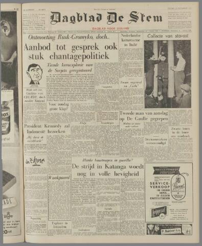 de Stem 1961-09-15