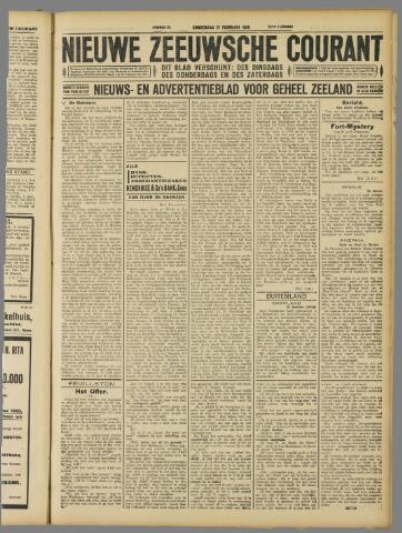 Nieuwe Zeeuwsche Courant 1929-02-21