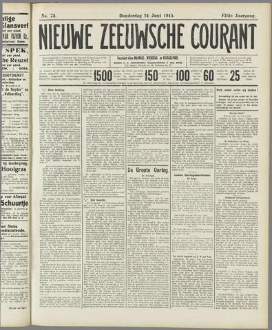 Nieuwe Zeeuwsche Courant 1915-06-24