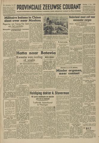 Provinciale Zeeuwse Courant 1948-11-02