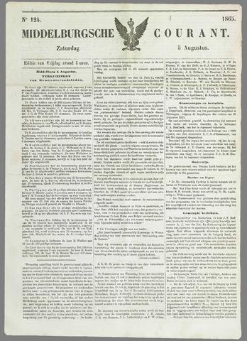 Middelburgsche Courant 1865-08-05