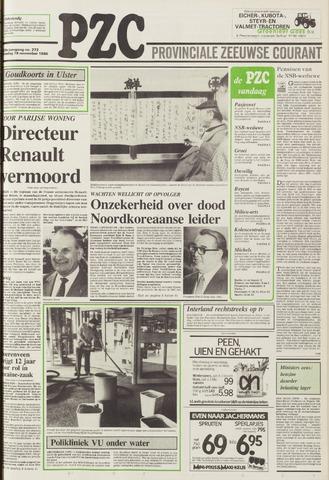 Provinciale Zeeuwse Courant 1986-11-18