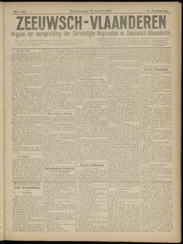 Luctor et Emergo. Antirevolutionair nieuws- en advertentieblad voor Zeeland / Zeeuwsch-Vlaanderen. Orgaan ter verspreiding van de christelijke beginselen in Zeeuwsch-Vlaanderen 1919-04-16