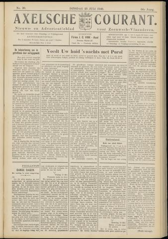 Axelsche Courant 1940-07-23