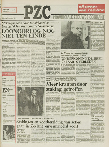 Provinciale Zeeuwse Courant 1977-02-14