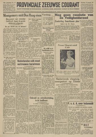 Provinciale Zeeuwse Courant 1949-01-18