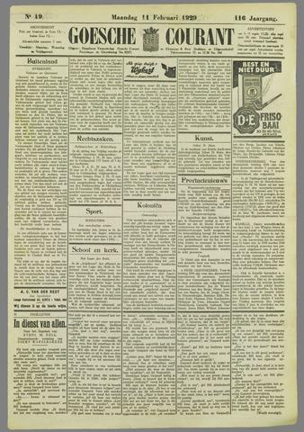 Goessche Courant 1929-02-11