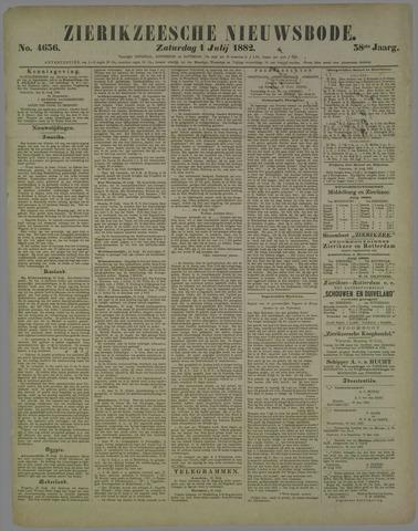 Zierikzeesche Nieuwsbode 1882-07-01