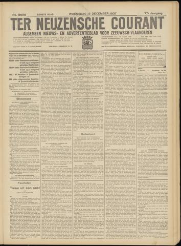 Ter Neuzensche Courant. Algemeen Nieuws- en Advertentieblad voor Zeeuwsch-Vlaanderen / Neuzensche Courant ... (idem) / (Algemeen) nieuws en advertentieblad voor Zeeuwsch-Vlaanderen 1937-12-15