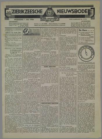 Zierikzeesche Nieuwsbode 1936-07-01