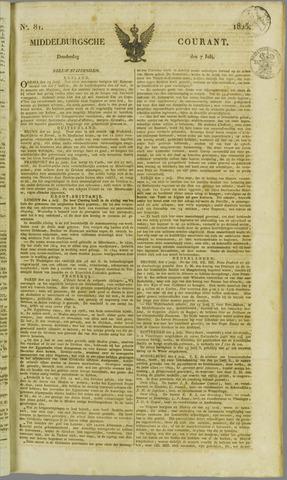 Middelburgsche Courant 1825-07-07