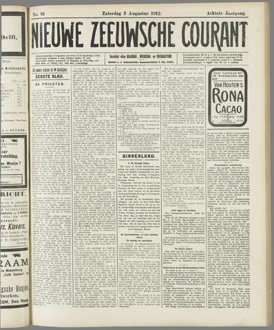Nieuwe Zeeuwsche Courant 1912-08-03