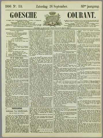 Goessche Courant 1896-09-26