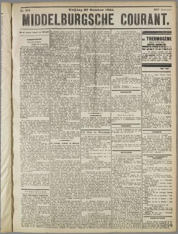 Middelburgsche Courant 1922-10-27