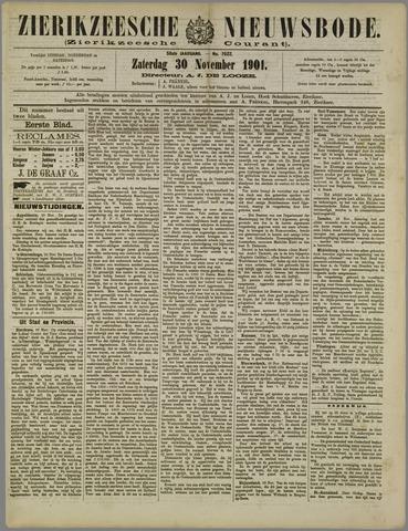 Zierikzeesche Nieuwsbode 1901-11-30