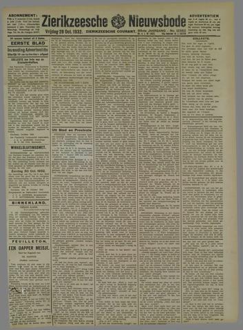 Zierikzeesche Nieuwsbode 1932-10-28