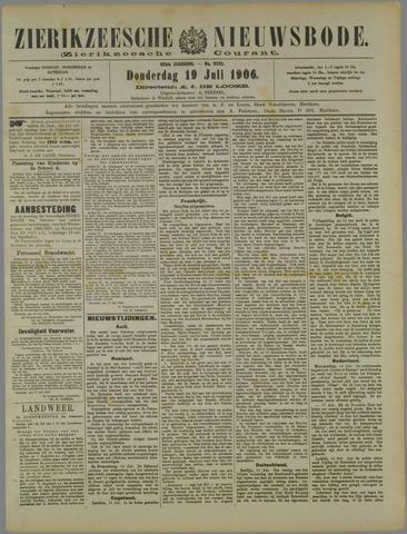 Zierikzeesche Nieuwsbode 1906-07-19