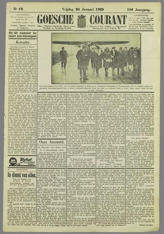 Goessche Courant 1929-01-25