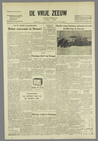 de Vrije Zeeuw 1963-01-16