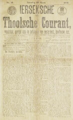 Ierseksche en Thoolsche Courant 1886-03-20