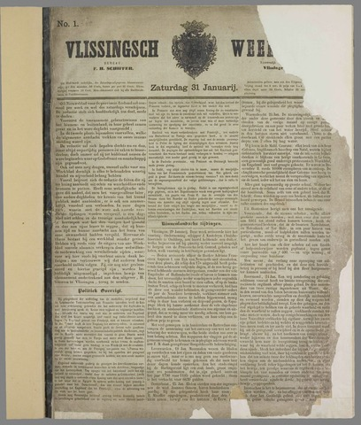 Vlissings Weekblad 1863