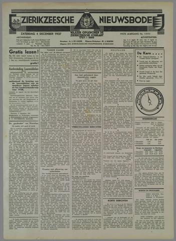 Zierikzeesche Nieuwsbode 1937-12-04