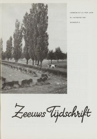 Zeeuws Tijdschrift 1958-11-01